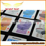 China manufacturer custom sofa printing playing card poker