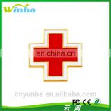 Winho Red Cross Gold plated lapel pin