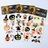 Temporary tattoo glow in the dark tattoo sticker