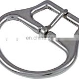 Horse saddle girth strap buckle for equestrian equipment