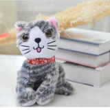 Latest Plush Toy  Wholesale Stuffed Animals Cat With Star Design