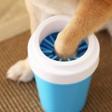 pet portable dog paw cleaner pet cleaning brush cup dog foot washe
