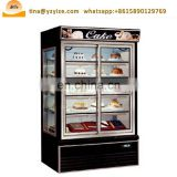 Auto Defrosting System Commercial Display Refrigerator,Showcase Freezer For Food