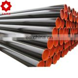 Steel pipe manufacturer black hot rolled Seamless steel pipe/tubing
