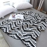 summer quilt eometric zigzags chevrons triangles Bedspread knitted cotton Throw Blanket Wrap Rug sofa blanket