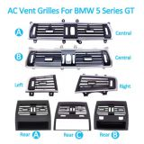 Fresh Air Conditioner AC Vent Grille Outlet Full Set For BMW 5 Series GT F07 528 535 550 2010-2017