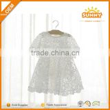 China Supplier Baby Dresses 2016 Latest Frocks Designs Lace Baby Girls Dresses Maxies Beautiful