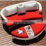 foshan shunde furniture sectional round sofa bed