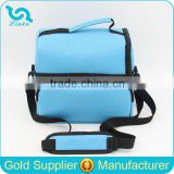 Extra Large Polyester Insulated Food Delivery Bags Hot Food Delivery Bags With Dual Compartments