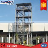TL16 FDA GMP Standard High Efficient Stainless Steel Industrial Machine Ethyl Alcohol Recovery Distillation Columns Tower