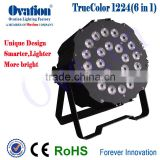 Hot selling 24 Led 6in1 Led Par Multi Color Professional Rgbw Full-color Cool White High Power Rgbw 6in1 24pcs 12w Led Par