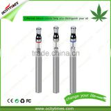 New Pattent from Ocitytimes No Leaking O2 Glass 300mah Disposable E-cigarette CBD Vape Pen