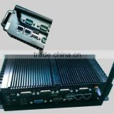 Intel Atom D2550 High Value Fanless Embedded Box PC with 2 GigaLAN and Isolated COM Ports/digital IOs