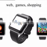 "2016 New Smartwatch q1 smart watch Android 5.1 Qard Core Square 320*320 1.54"" IPS 2G/3G with GPS Wifi SIM Card wearable devices"