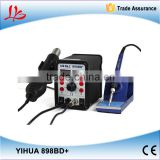 YIHUA 898BD+ 2 in 1 Digital Display Hot Air Desoldering Station , Electric Iron + Heat Gun