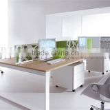 Hot Easy-clean Office Partition,Steel Frame Simple Office 4 Person Workstation(SZ-WS525)