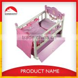 wooden Baby Cribs with storage