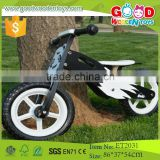 2015 New hot design black and white eva tire wholesale wooden bike                                                                         Quality Choice
