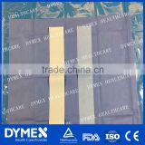 Tope Grade Medical Use Sterile PP SMS Viscose Nonwoven Surgical Drape Fabric in Disposable Surgical Kits/Sets/Packs
