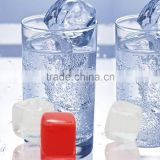 High Quality Reusable plastic ice cubes/ Transparent plastic fake ice cubes