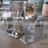 Fully stainless steel wide output range candy sugar coating machine