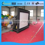 Cheap best sell outdoor inflatable projector screen