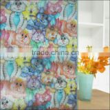 cartoon patten PVC Wall Covering Moisture Proof Decorative Film, Self-Adhesive frosted film