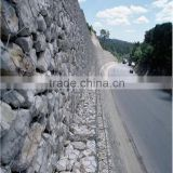 china high quality stone walls /hot dipped galvanized hexagonal gabion mesh used in flood barriers