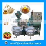 Easy operation palm oil press machine / sesame oil press machine with simple maintenance