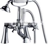 classic bathroom clawfoot bath shower mixer tub filler faucet