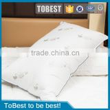 ToBest Hotel bedding wholesale 5 star hotels Plush feather pillows                                                                         Quality Choice