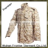 Desert camouflage men military winter field jacket m65