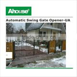 Auto double gates system kit ,Underground swing gate opener, Wrought Iron Electric Gates, Swing garage door opener, (CE)