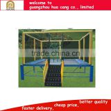 2016 bungee trampoline, outdoor Sports Fitness Competition Trampoline