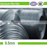 9.5mm bare aluminum wire rod manufacturers for electrical purpose
