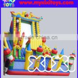 Giant outdoor inflatable children playground