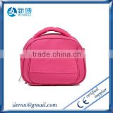 pink high quality cosmetic bag multi pocket