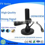 European popular hd tv antenna UHF tv antenna with big cable for less signal loss