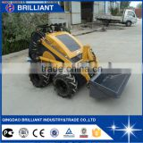 CE and EPA Approved 350kg Used Mini Skid Steer Loader Racoon Skid Steer Loader                                                                         Quality Choice