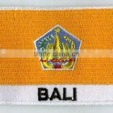 BALI Embroidery flag patch