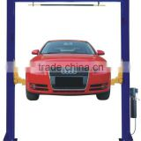 cheap double post car underground lift crane