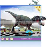 Fiberglass Christmas decorations---dinosaur statue