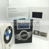 2016 New Business Gift Paper Invitation 4.3 inches lcd Video Greeting Card                                                                         Quality Choice