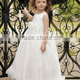 Stylish Lovely Wide Straps Organza Ball Gown Flower Girl Dress Party Dress For Children 16