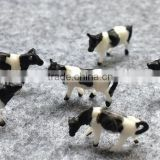 farm color plastic miniature 3d model animals in HO scale