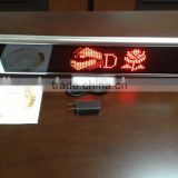 2015 Digital led display sign for bus led programmable sign display board