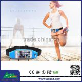 Multifunctional waterproof waist belt bag capable of touch screen belt bag