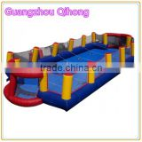 inflatable human foosball court, human foosball inflatable, inflatable foosball areana for sale