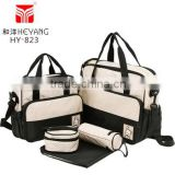 Fashion Design Big Size Diaper Bags Mummy Baby Travel Kit Bag