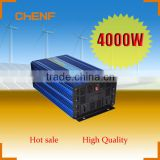 Chenf 4000W With European Socket and USB Output High Frequency Off Grid DC Cable With Car Adaptor Inverter